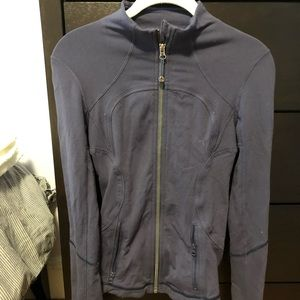 Lululemon Purple Jacket luon fabric size 4